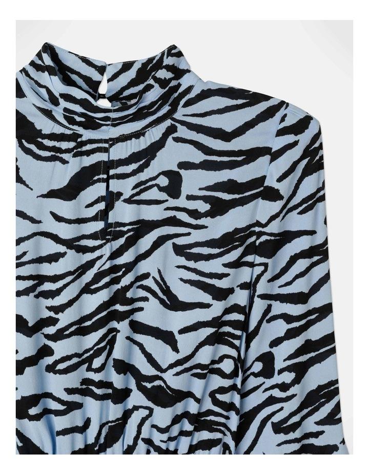 Zebra Print Dress With Tie image 2