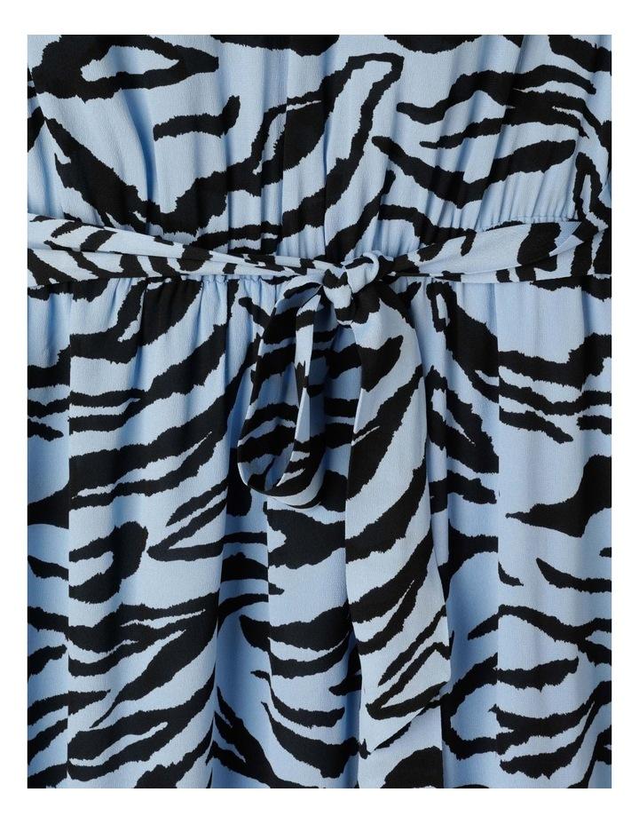 Zebra Print Dress With Tie image 3