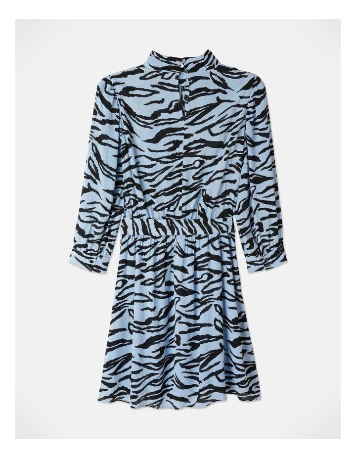 Zebra Print Dress With Tie image 4