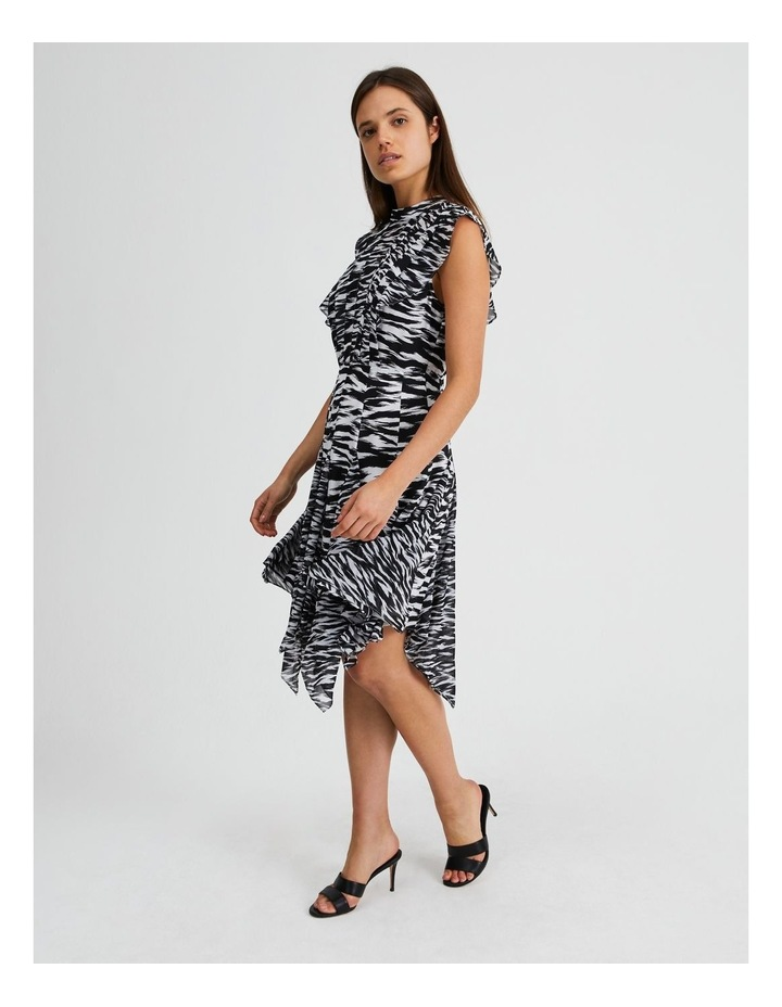 Spliced Print Mini Dress In The Wild image 2
