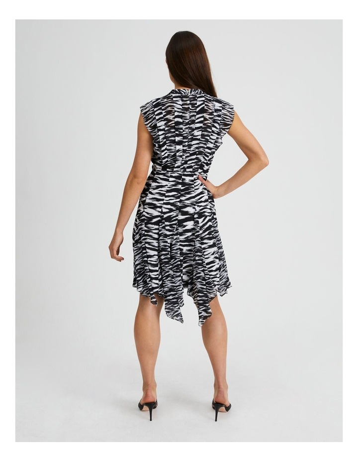 Spliced Print Mini Dress In The Wild image 3