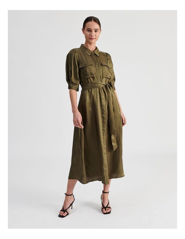 Western Shirt Dress image 1