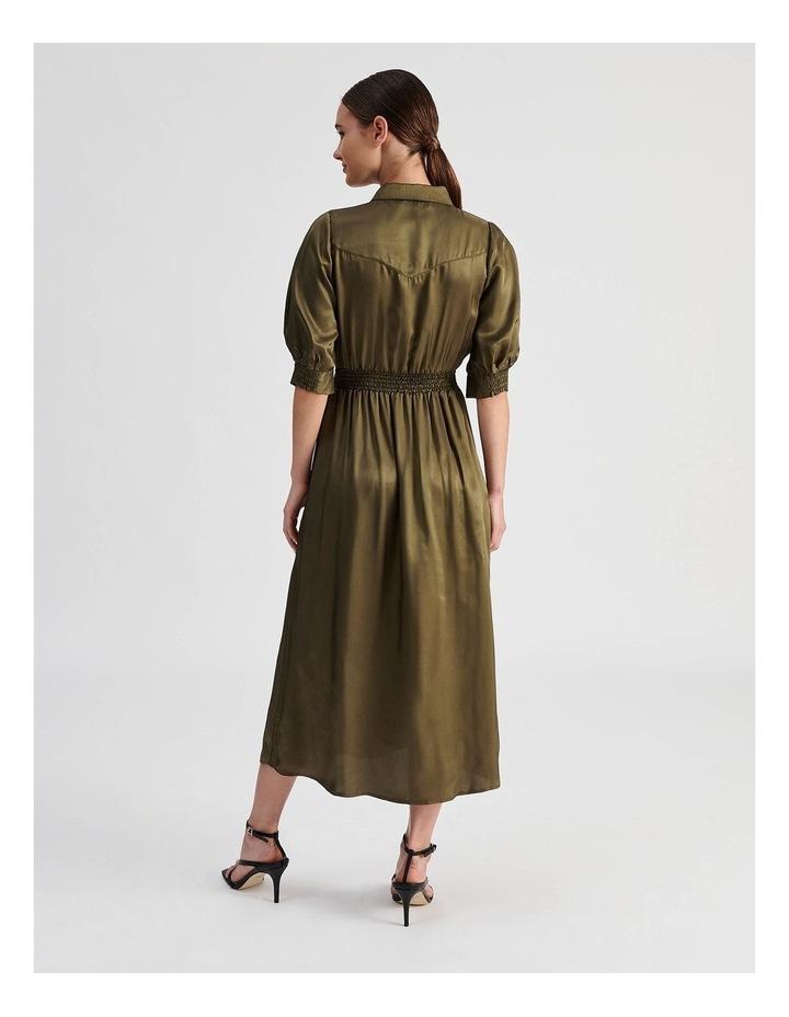 Western Shirt Dress image 3