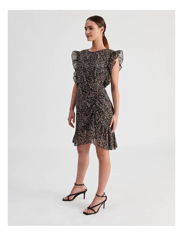 High Neck Ruffle Dress image 2