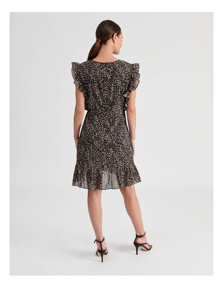 High Neck Ruffle Dress image 3