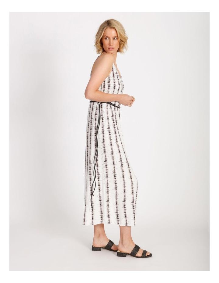 Stripe Slip Dress With Tie image 2