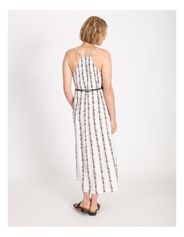 Stripe Slip Dress With Tie image 3