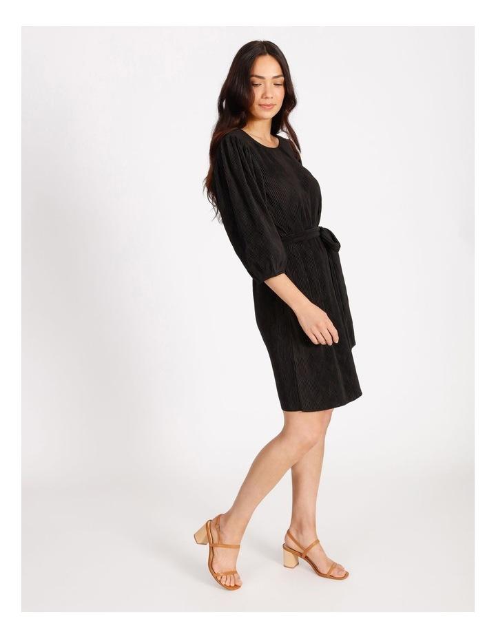 Plisse Shift Dress image 2