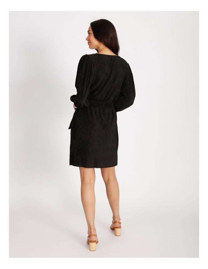 Plisse Shift Dress image 3