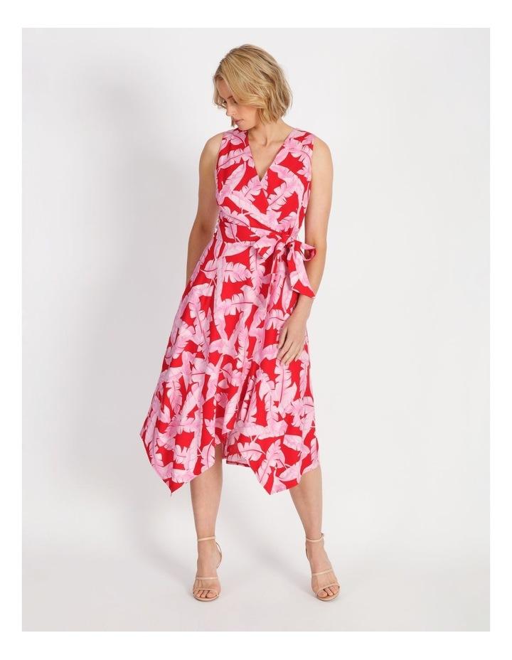 V-Neck Asymmetrical Dress image 1