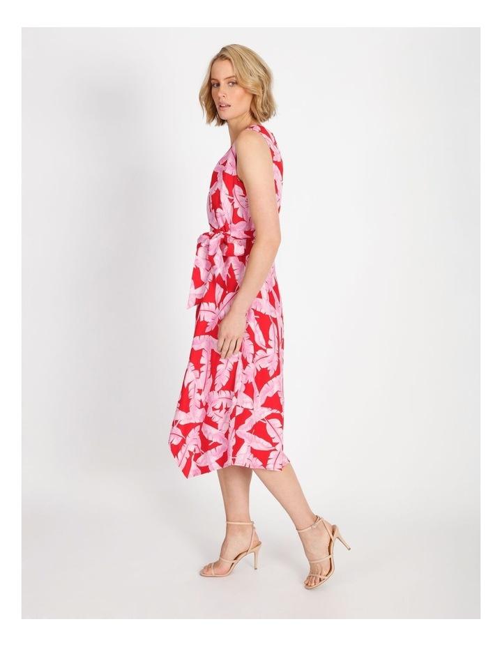 V-Neck Asymmetrical Dress image 2