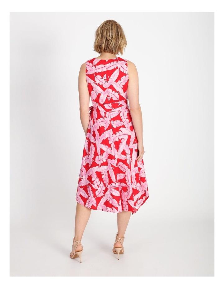 V-Neck Asymmetrical Dress image 3