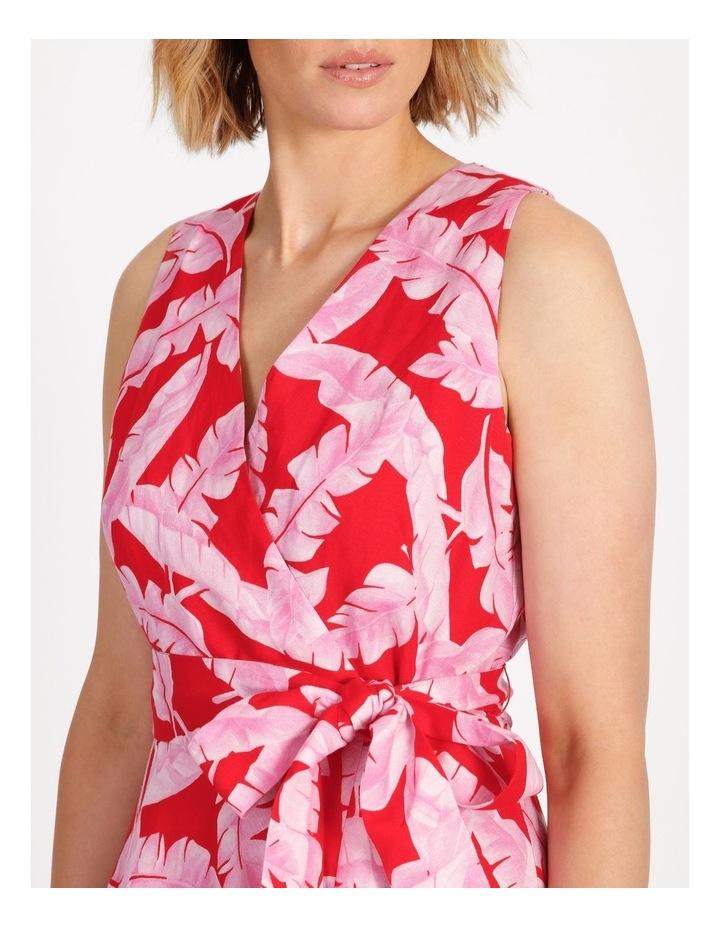 V-Neck Asymmetrical Dress image 4