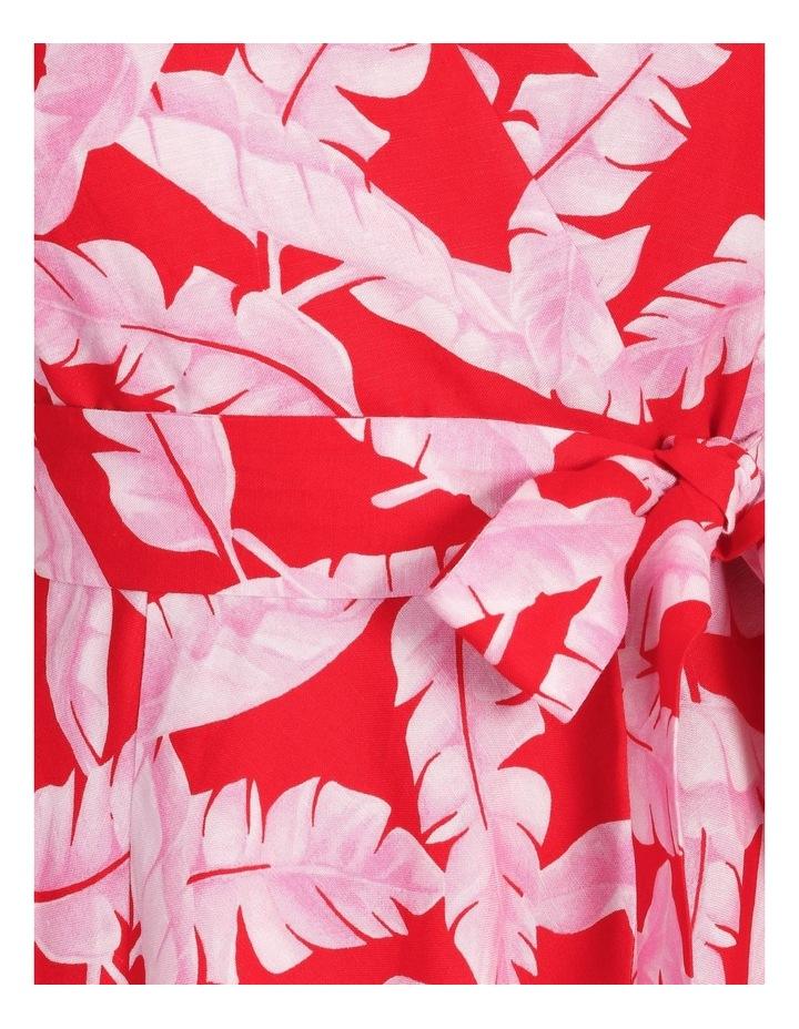 V-Neck Asymmetrical Dress image 5