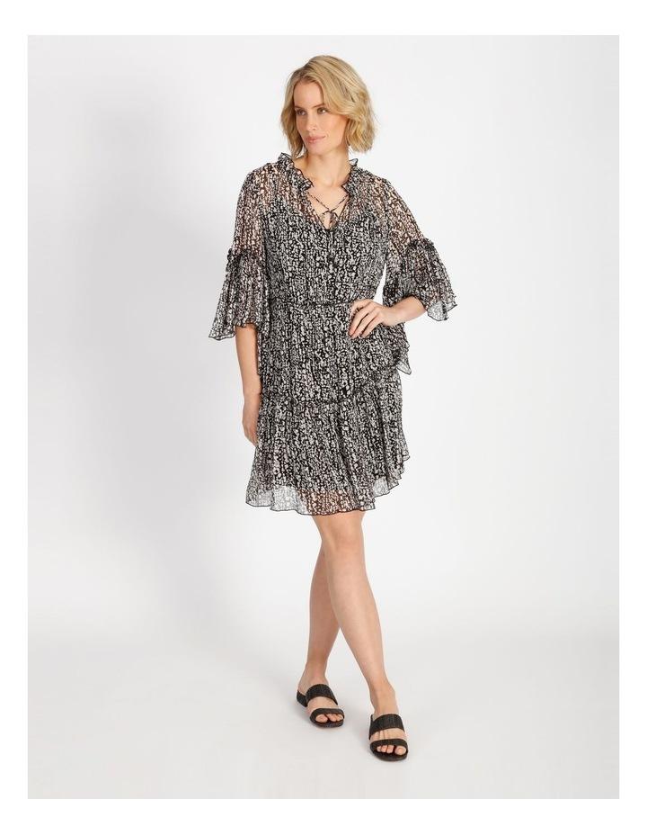 Frill Tiered Mini Dress image 1