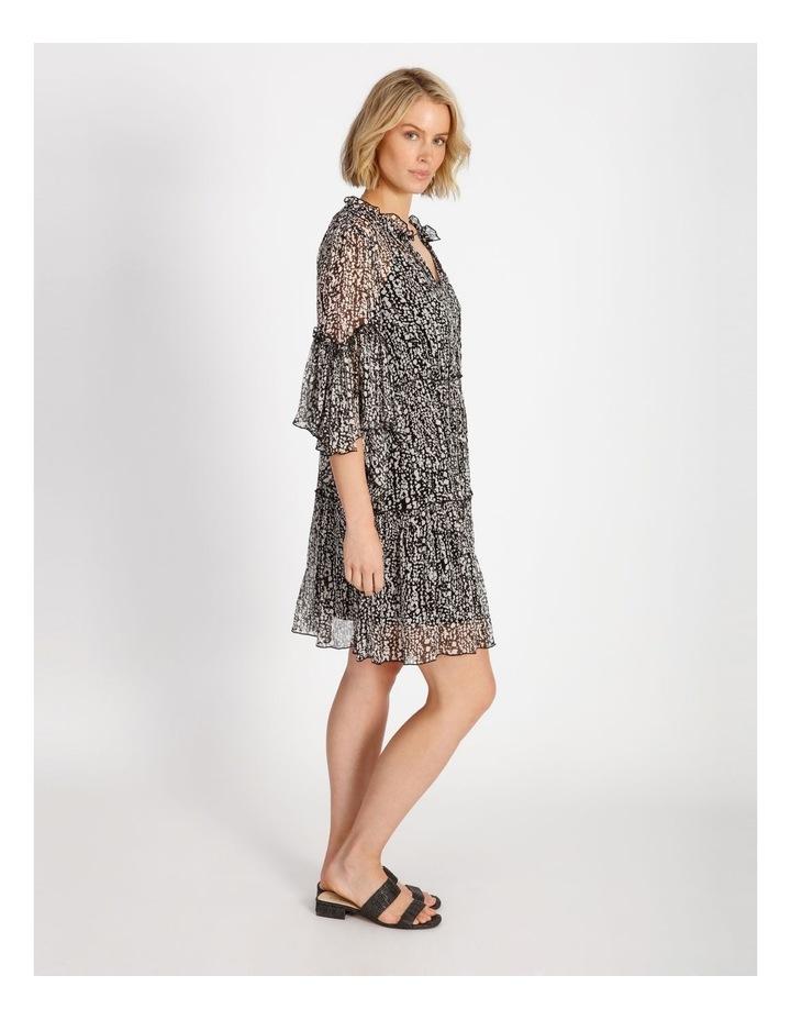 Frill Tiered Mini Dress image 2