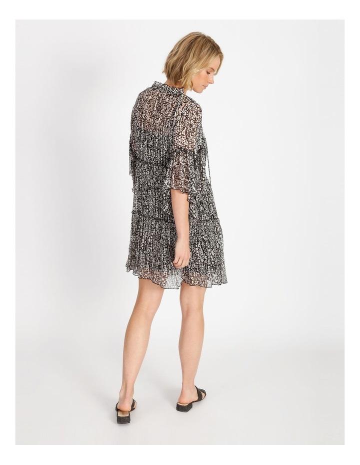 Frill Tiered Mini Dress image 3
