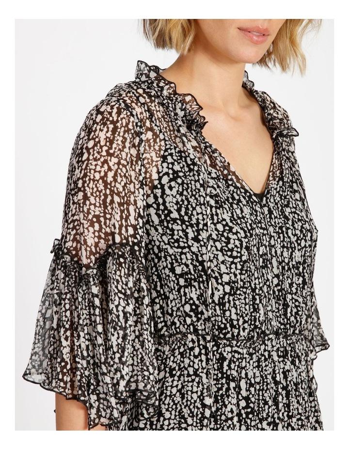 Frill Tiered Mini Dress image 4