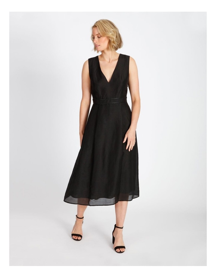 Trim Midi Dress image 1