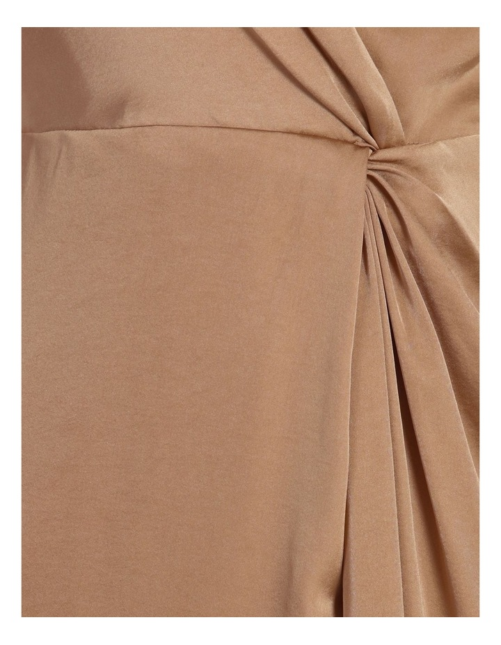 Twist Front Satin Dress image 5