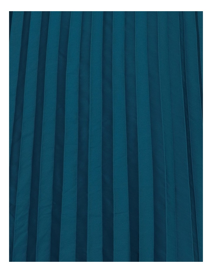 VNeck Pleat Hanky Hem Dress image 6