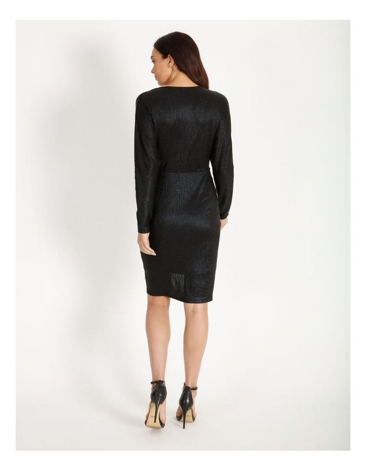Ruched Metallic Dress image 3