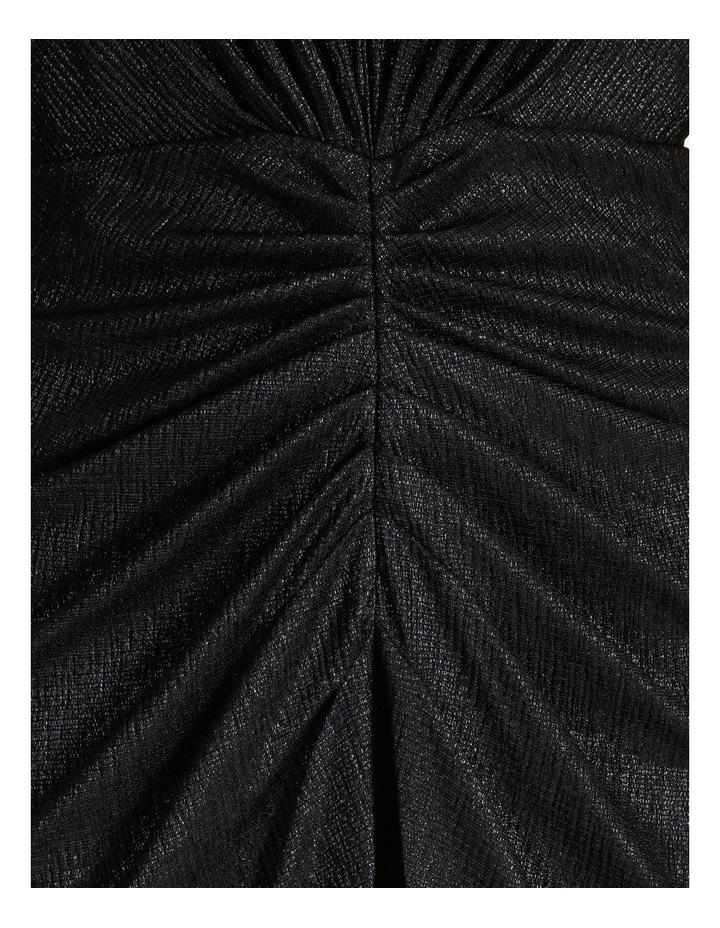 Ruched Metallic Dress image 5