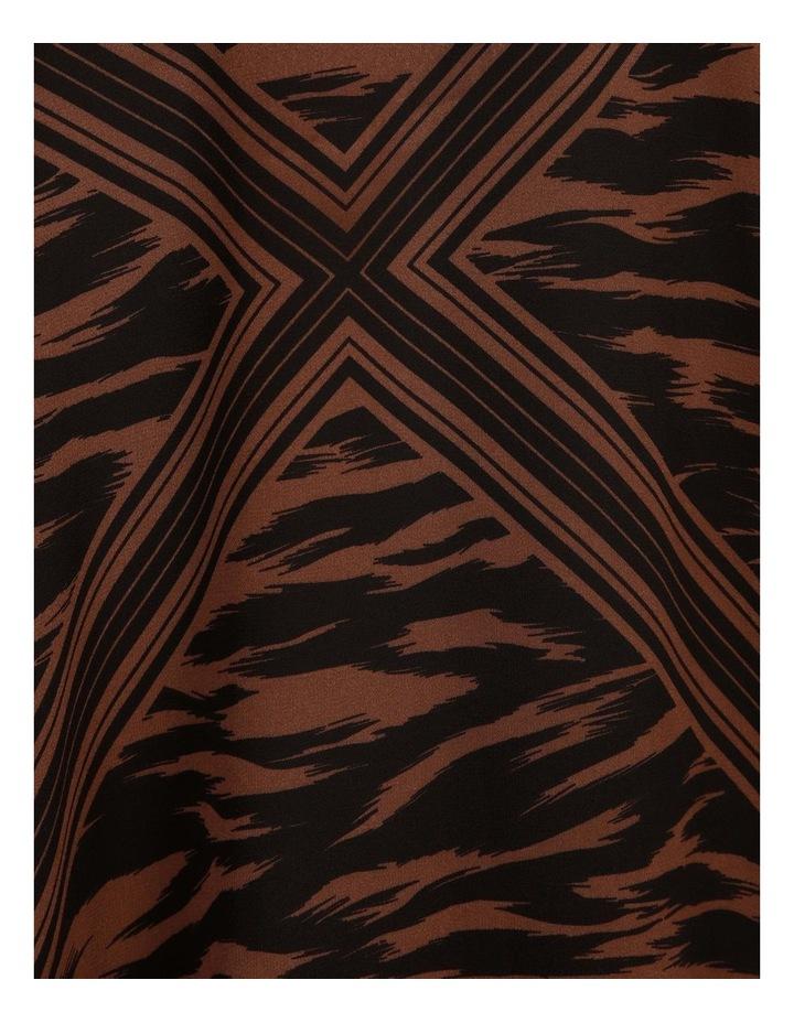 Scarf Print Wrap Dress image 5
