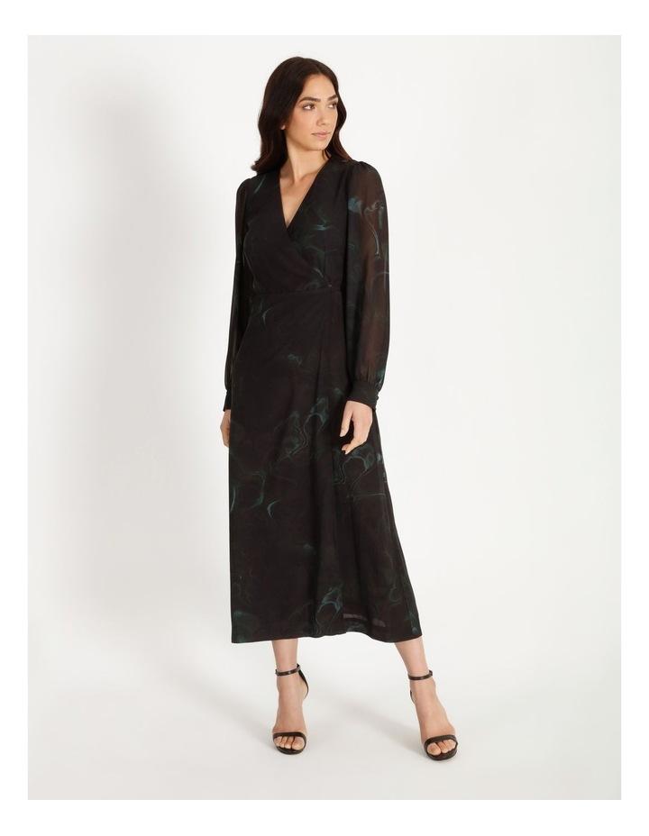 Long Sleeve Wrap Dress image 1