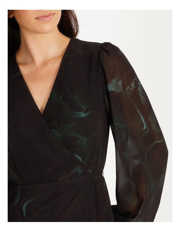 Long Sleeve Wrap Dress image 4