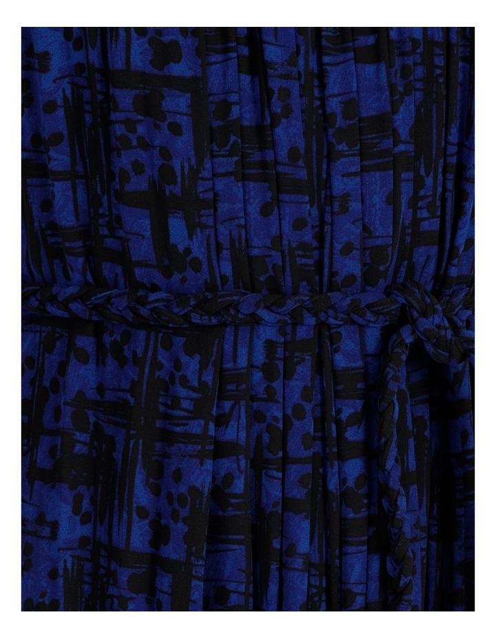 Rope Tie Pleat Detail Dress image 6