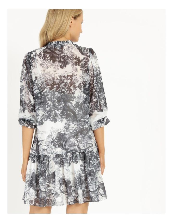 Long Button Front Mini Dress image 4