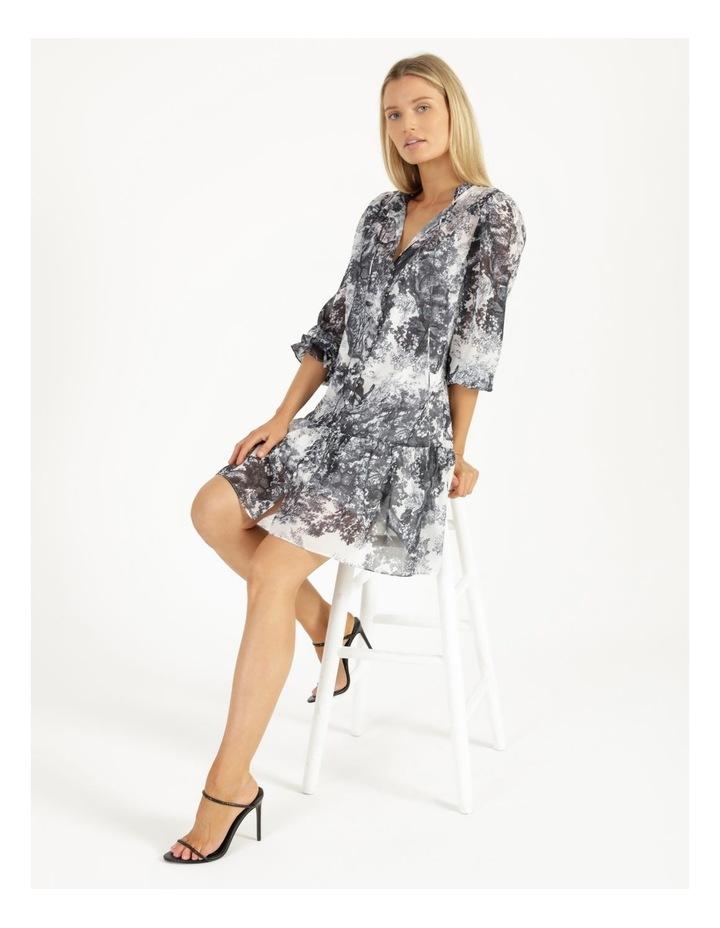 Long Button Front Mini Dress image 5
