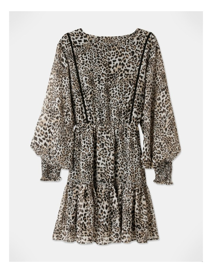 Long Sleeve Mini Dress image 3