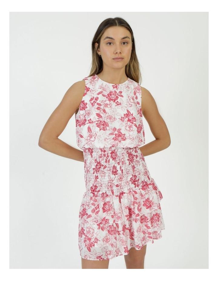 Sleeveless Shirred Mini Dress image 2