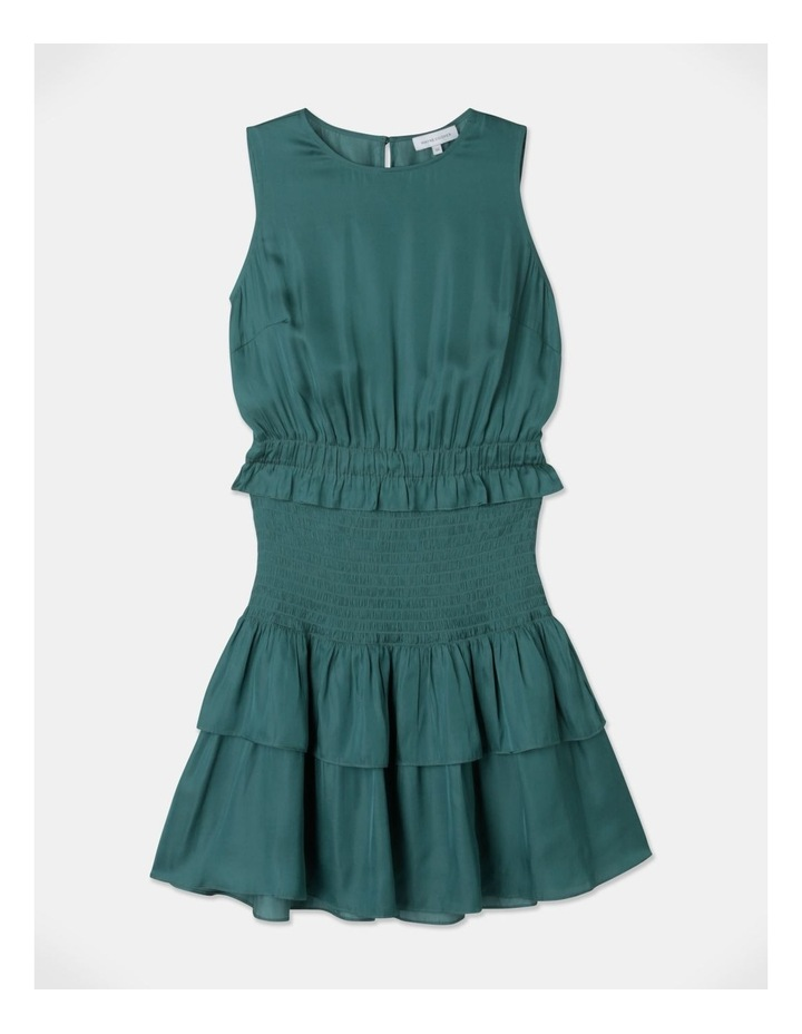 Sleeveless Shirred Mini Dress image 6