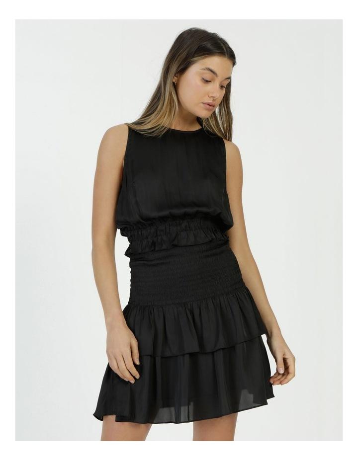 Sleeveless Shirred Mini Dress image 3