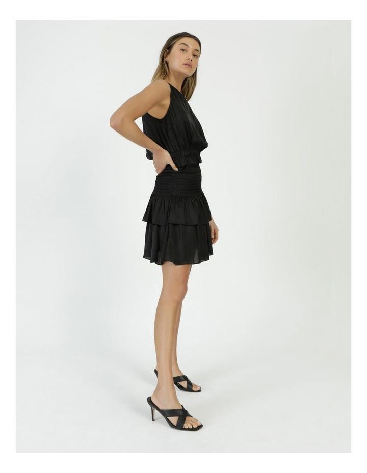 Sleeveless Shirred Mini Dress image 4