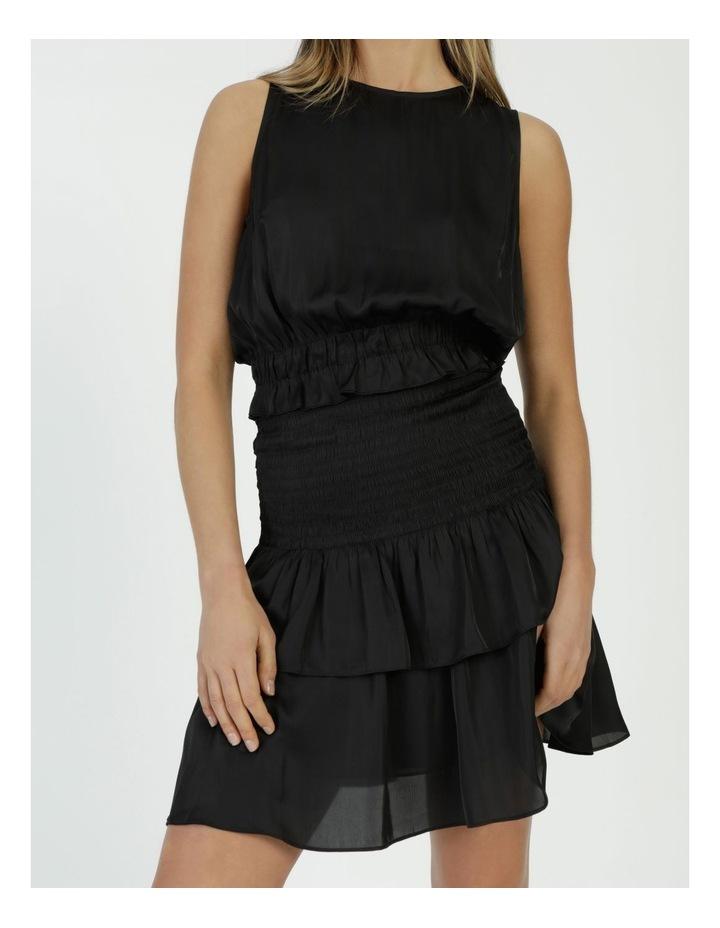 Sleeveless Shirred Mini Dress image 5