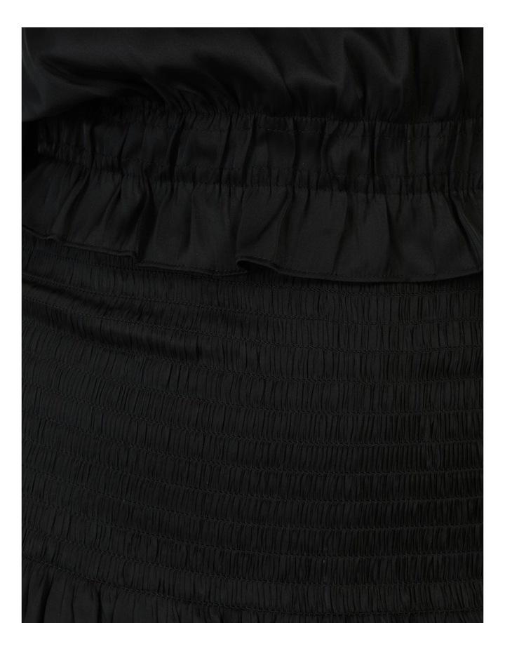 Sleeveless Shirred Mini Dress image 7