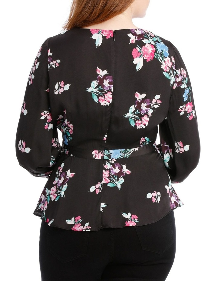 Top Wrap Bright Floral image 3