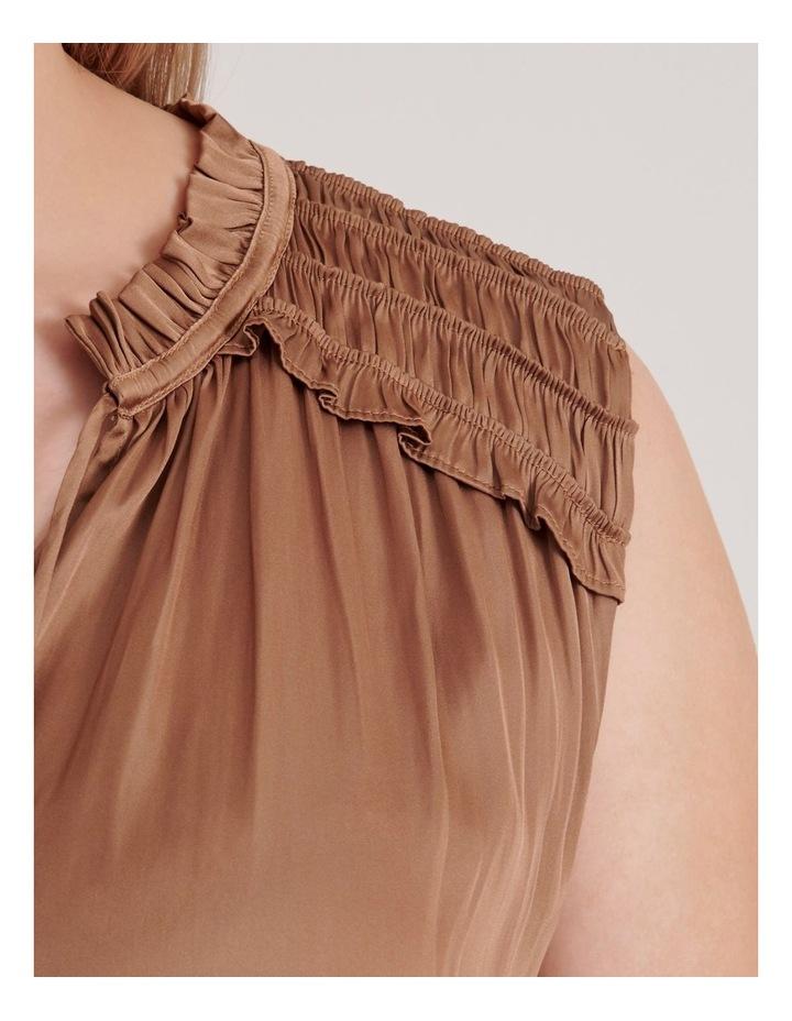 Frill Shoulder Sleeveless Blouse image 6