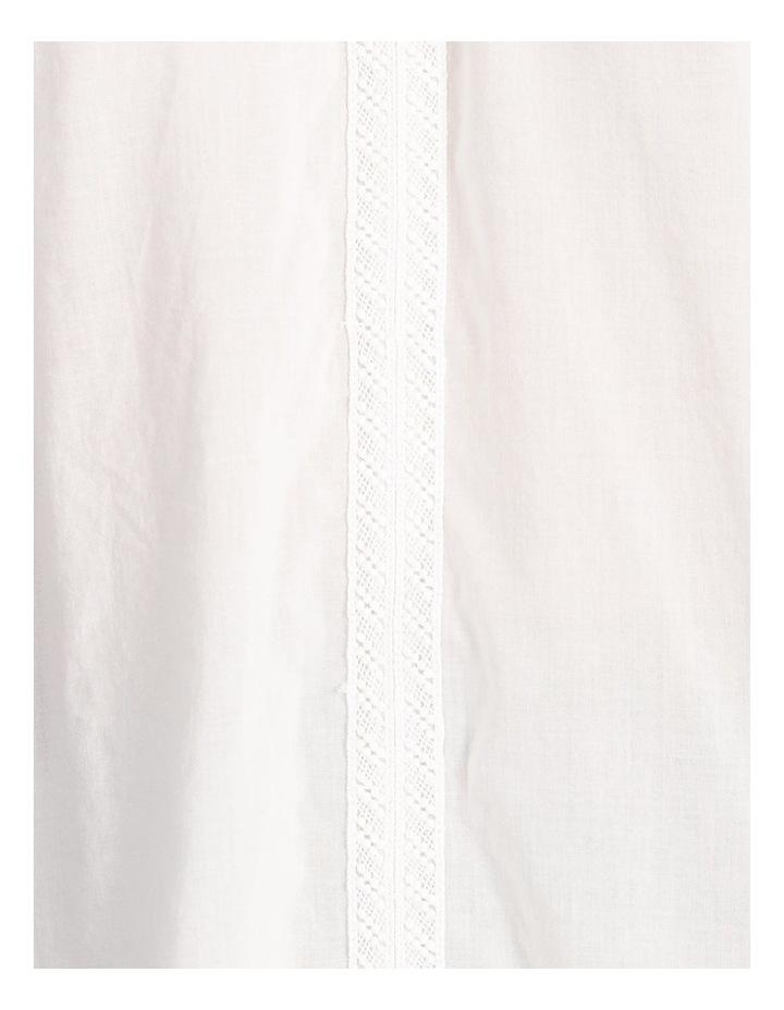 Lace Sleeve Tassel Tie Blouse image 6