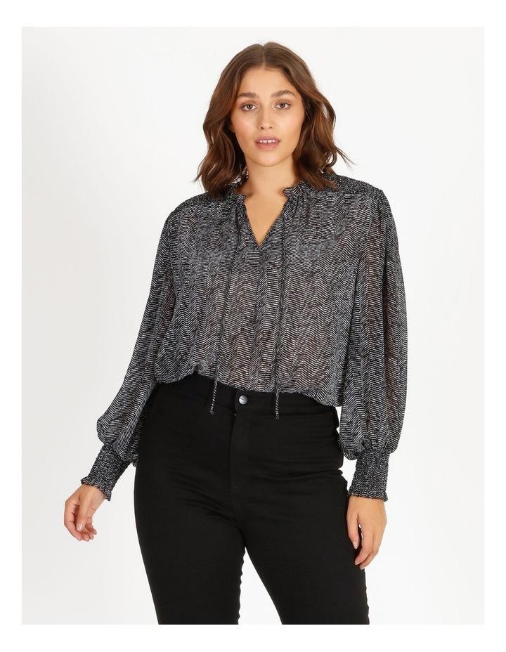 Shirring Sleeve Detail Blouse image 1