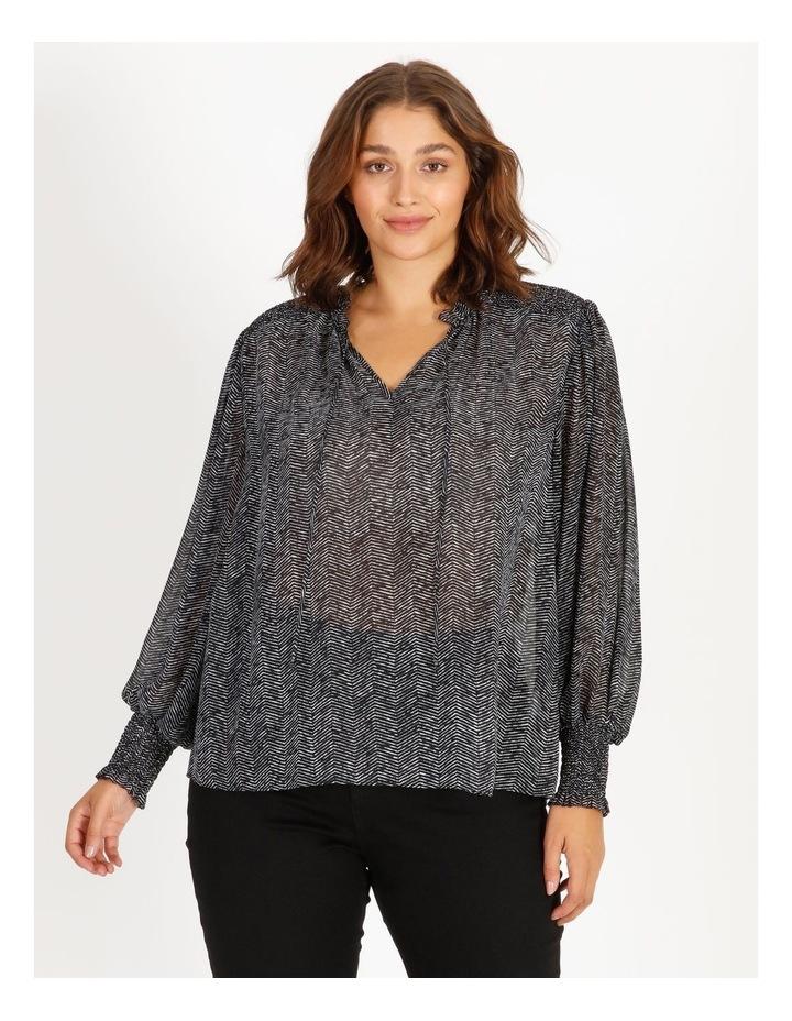 Shirring Sleeve Detail Blouse image 3