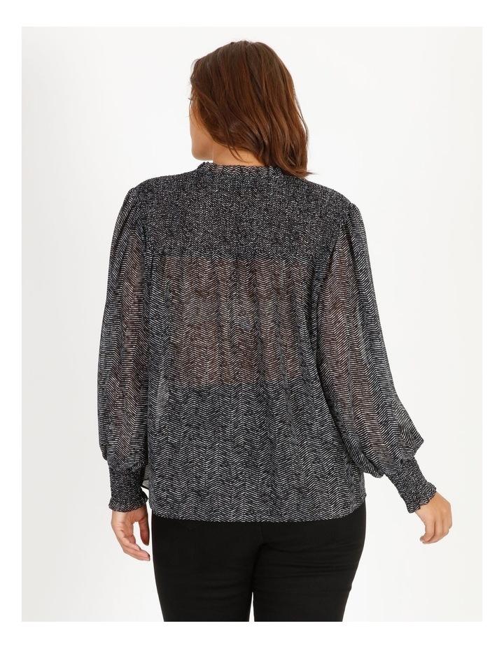 Shirring Sleeve Detail Blouse image 4