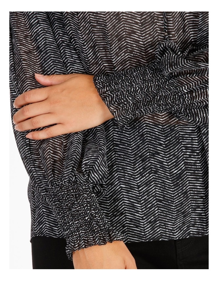 Shirring Sleeve Detail Blouse image 5