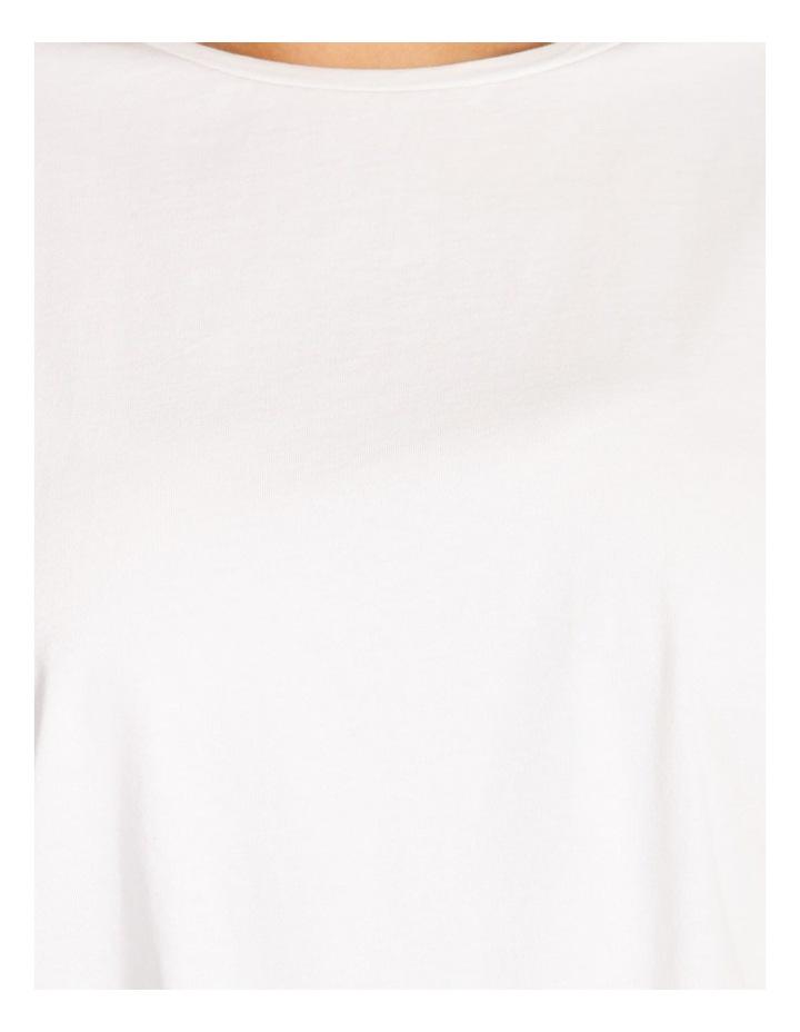 Sleeve Trim Cotton Tee image 5