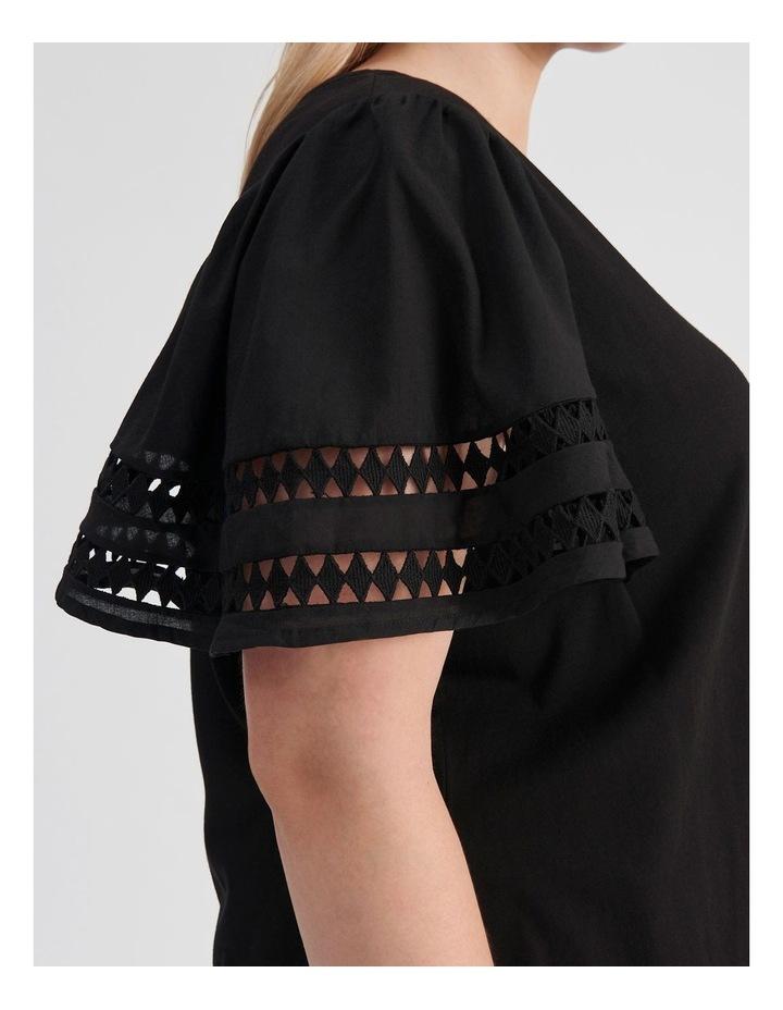 Embroidered Sleeve Tee image 5