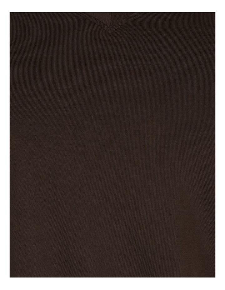Short Sleeve Vee Neck Bamboo Tee image 7